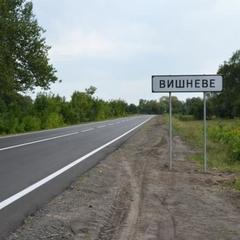 На Полтавщині на дорогу наносять пластикову розмітку