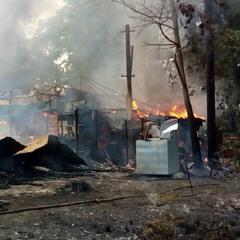 Пожежу на проспекті Перемоги локалізовано - ДСНС (фото)