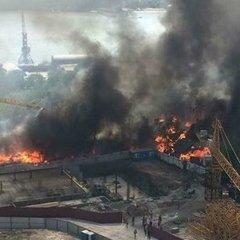 Масштабна пожежа у Ростові-на-Дону призвела до оголошення надзвичайної ситуації (відео)