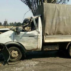 Поблизу Слов'янська на машину впало дерево, травмовані дві людини (фото)