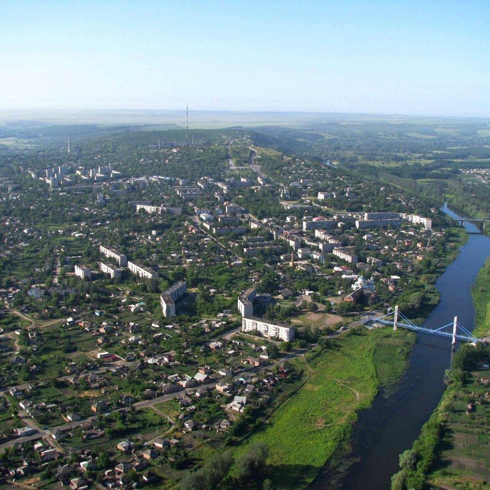 Порошенко відкрив міст через Сіверський Донець в Ізюмі