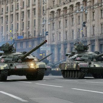 У Києві проходить генеральна репетиція військового параду до Дня Незалежності