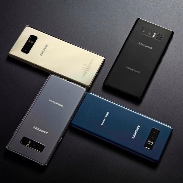 Смартфон Samsung Galaxy Note 8 представлено офіційно
