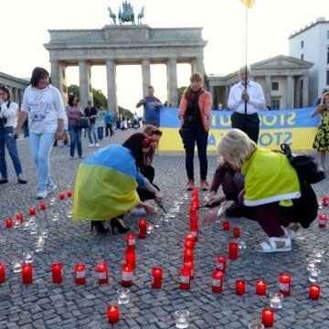 Українці Берліна відсвяткували День Державного Прапора