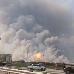 Вибух на складі в Азербайджані: поранено 6 осіб