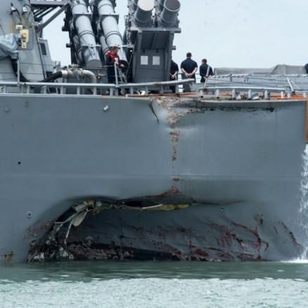 Водолази знайшли тіла всіх моряків з американського есмінця John McCain