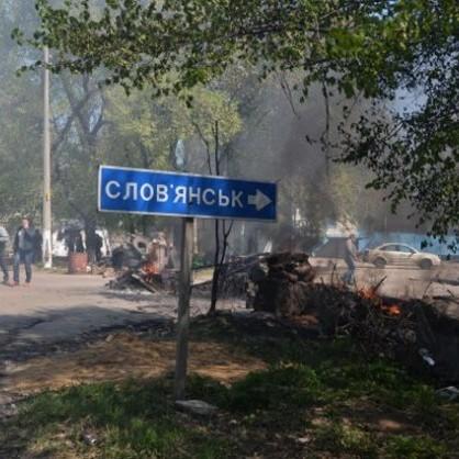 ДТП у Слов'янську: зіткнулися військовий «Урал» та маршрутка