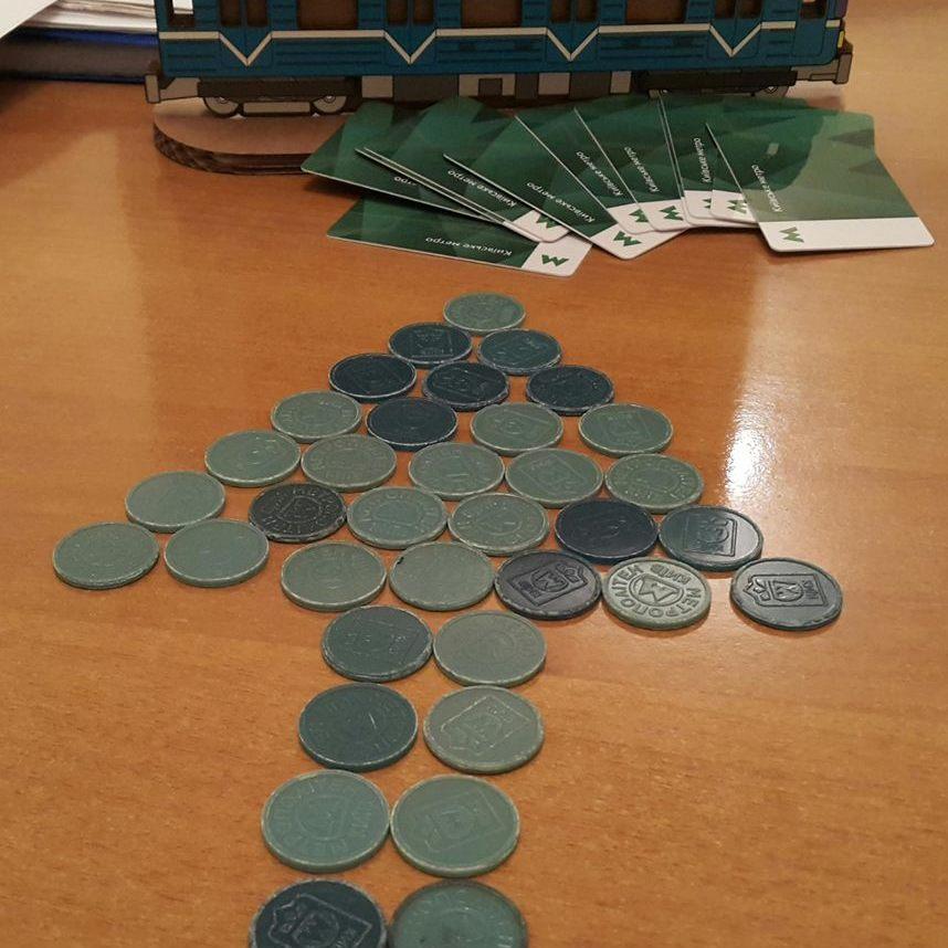 Для обміну зелених жетонів на сині залишилося 4 дні