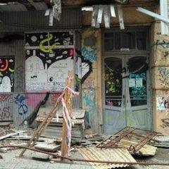 У центрі Києва обвалився балкон історичної будівлі (фото)