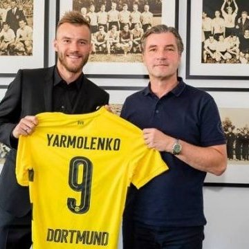 Ярмоленко офіційно перейшов в клуб німецької Бундесліги «Боруссія»