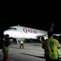 Літак компанії Qatar Airways здійснив перший рейс в Україну (фото)
