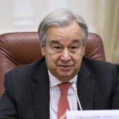 Генсек ООН підтримав домовленість про встановлення режиму припинення вогню на сході України