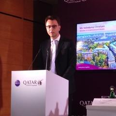 На прес-конференції Qatar Airways хвилиною мовчання вшанували загиблих в Іловайському котлі