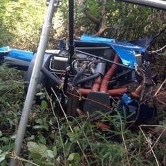 На Івано-Франківщині розбився чоловік на повітряному судні (фото)