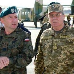 В Україну прибув начальник Генерального штабу Польщі