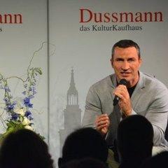 Кличко в Берліні презентував свою книгу