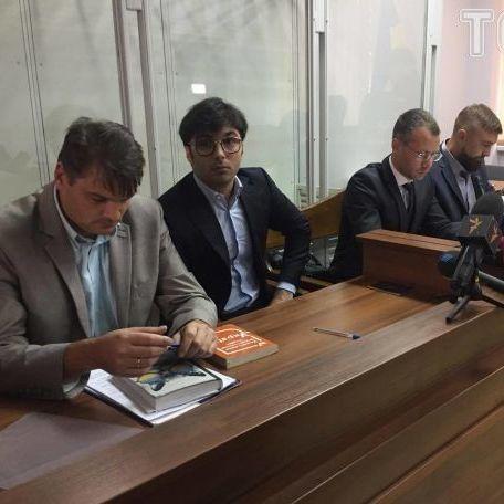 Син Шуфрича прийшов на суд із батьком