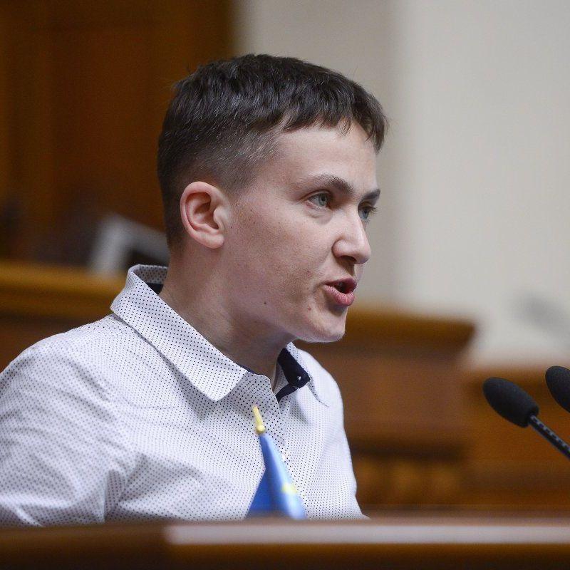 Савченко зробила дивну заяву про ватажків «ЛДНР» Захарченка та Плотницького