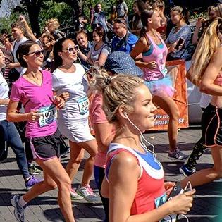 «RUN LIKE A GIRL»:  столиці відбудеться жіночий легкоатлетичний пробіг
