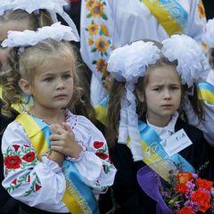 Як на Донбасі святкували Перший дзвоник (відео)