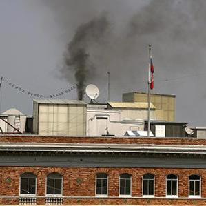 Над консульством РФ в Сан-Франциско, яке влада США вирішила закрити, з'явився чорний дим