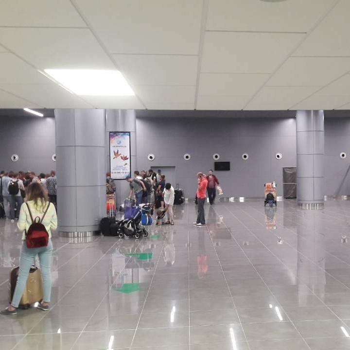 В одеському аеропорту запрацював новий міжнародний термінал (фото)