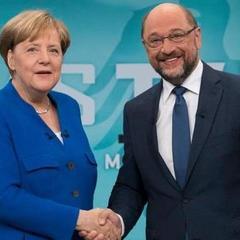 Вибори у Німеччині: Меркель переконливо перемогла Шульца на теледебатах