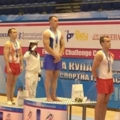 Українські гімнасти здобули п'ять нагород на етапі Кубка світу у Варні