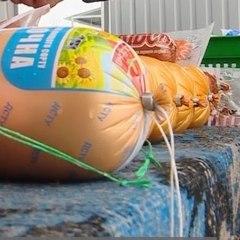 У Криму окупанти спалили понад 100 кг сирів і ковбас з України та ЄС