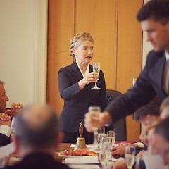 Фракція Тимошенко почала роботу в Раді з шампанського (фото)