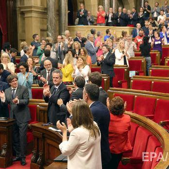 У Каталонії ухвалили закон про новий референдум про незалежність