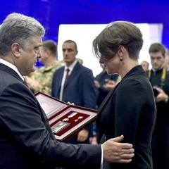 Порошенко вручив «Золоту зірку» Героя України Максима Шаповала його вдові