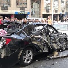 Вибух автомобіля у Києві: з'ясовано причину