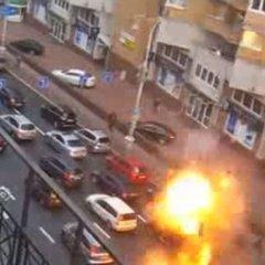 Вибух автомобіля у Києві: в мережі з'явилося нове промовисте відео