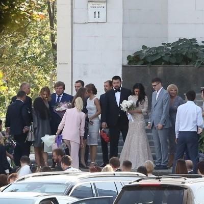 Син Луценка одружився у центральному РАЦСі (фото)