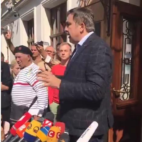 Саакашвілі заявив про викрадення його паспорта з автобуса