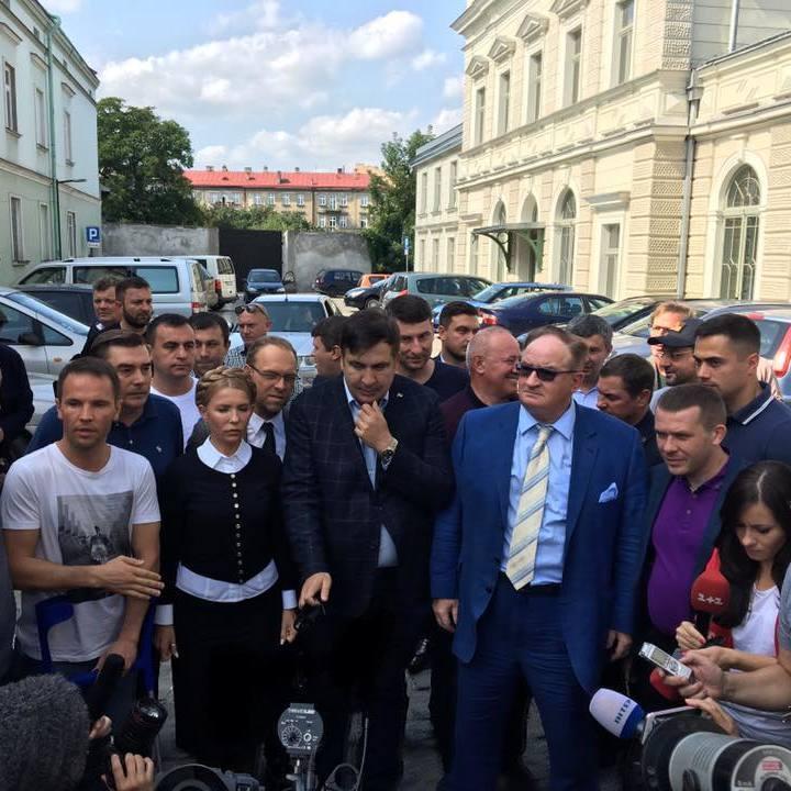Саакашвілі анонсував великий тур Україною