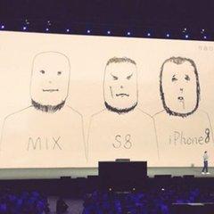 У Xiaomi висміяли iPhone 8: фото та відео