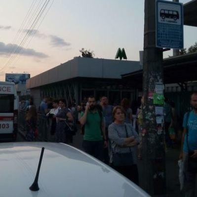 У мережі з'явилося відео гасіння задимлення у київському метро
