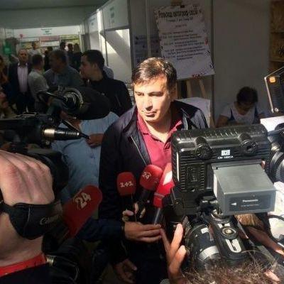 Саакашвілі розповів, де ночував після зникнення з готелю у Львові