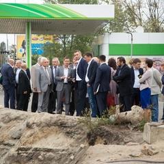 Віталій Кличко перевірив, як триває ремонт тепломережі на проспекті Соборності