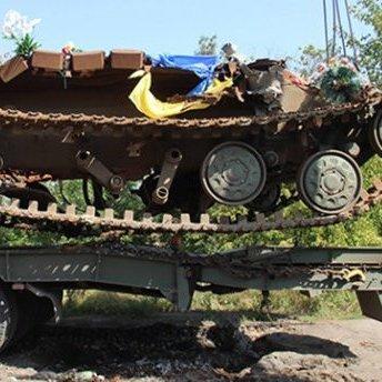 Легендарний танк із АТО стане пам'ятником на Донбасі (фото)
