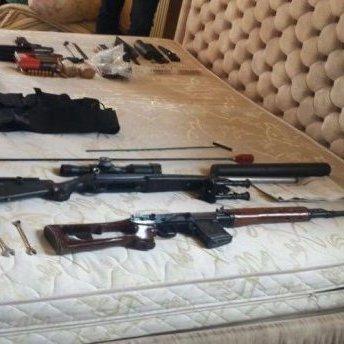 На Херсонщині поліція вилучила у злочинців арсенал зброї (фото)