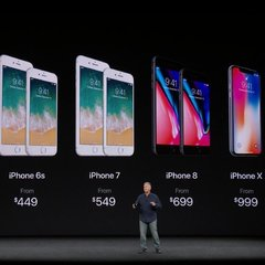 Стали відомі ціни на iPhone 8 і iPhone X в Україні