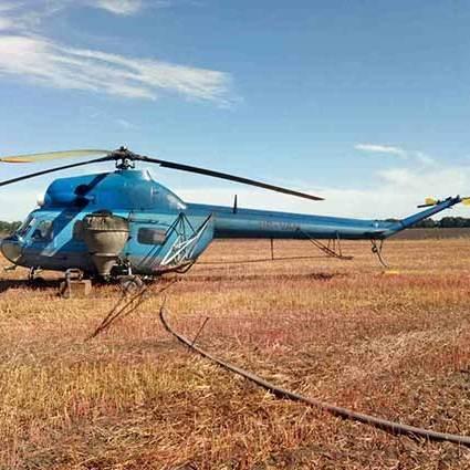 На Вінниччині під гвинт гелікоптера потрапив агроном