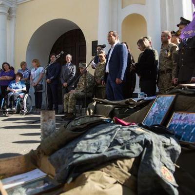 У Києві відкрили мартиролог загиблих воїнів АТО (фото)