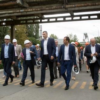 Віталій Кличко перевірив роботу нового обладнання на ТЕЦ № 6, яке значно економить енергоносії