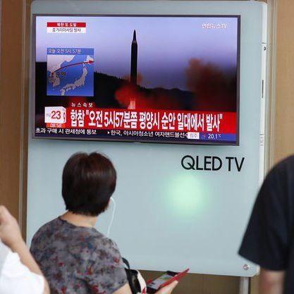У мережі з'явилося відео останнього запуску ракети Північної Кореї (відео)