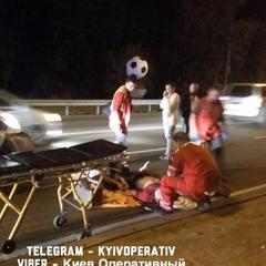 У Києві заступник голови банку на смерть збив людину (фото)