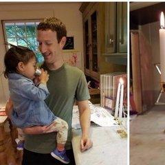 Марк Цукерберг опублікував фото, де він готує із донькою хліб